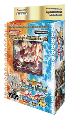 BFE-S-TD02 Legend of Double Horus (English) Future Card Buddyfight Ace  Trial Deck