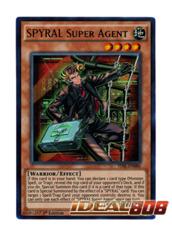 SPYRAL Super Agent - TDIL-EN086 - Ultra Rare - 1st Edition