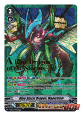 Blue Storm Dragon, Maelstrom - V-EB02/SV03EN - SVR (Gold Hot Stamp)