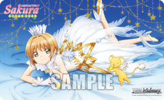 Weiss Schwarz CCS/WX01 Card Captor Sakura : Clear Card Case Promo Playmat