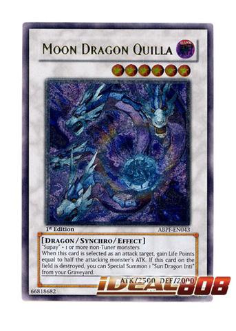 Moon Dragon Quilla - ABPF-EN043 - Ultimate Rare - 1st Edition
