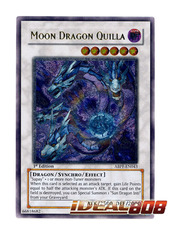 Moon Dragon Quilla - ABPF-EN043 - Ultimate Rare - 1st Edition