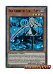 Sky Striker Ace - Raye - DASA-EN029 - Super Rare - Unlimited