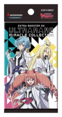 CFV-V-EB03 ULTRARARE MIRACLE COLLECTION (English) Cardfight Vanguard V-Extra Booster Pack