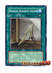 Broken Bamboo Sword - TAEV-EN062 - Common - 1st Edition