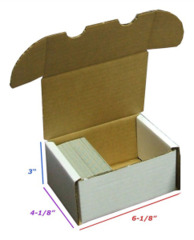 BCW  300 Storage Box - White (1-BX-300)