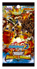 BFE-D-BT02 Roar! Invincible Dragon!! (English) Future Card Buddyfight Booster Pack