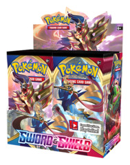 SS Sword & Shield - Base Set (SS01) Pokemon Booster Box [36 Packs]