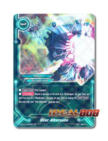 Star Alternate [D-BT01/0020EN RR (FOIL)] English