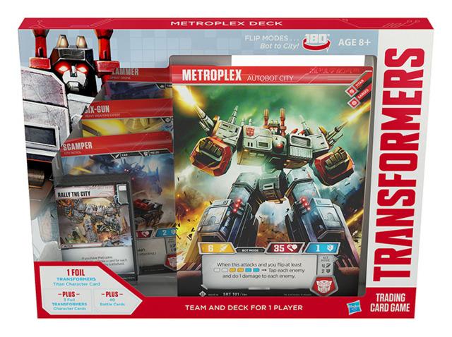 Metroplex (English) Transformers TCG Deck