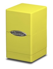 Ultra Pro Satin Tower Deck Box - Yellow (#84182)