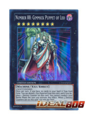 Number 88: Gimmick Puppet of Leo - CT10-EN013 - Super Rare - Limited Edition