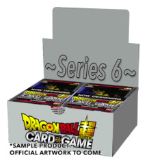 DBS-B06 ~Series 6~ (English) Dragon Ball Super Booster Box * PRE-ORDER Ships Mar.15
