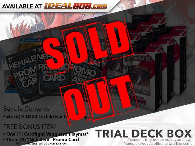 CFV-V-TD02 Toshiki Kai (English) V-Trial Deck Box [Contains 6 Decks] + FREE Bonus Items