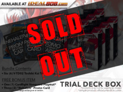 CFV-V-TD02 Toshiki Kai (English) V-Trial Deck Box [Contains 6 Decks] + FREE Bonus Items