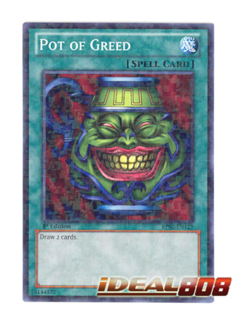 Pot of Greed - BP02-EN129 - Mosaic Rare - 1st