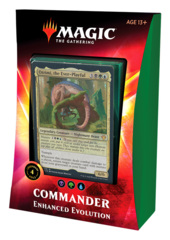 Commander 2020: Ikoria: Deck - Enhanced Evolution (Green/Black/Blue) feat. Otrimi, the Ever-Playful