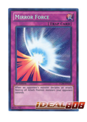 Mirror Force - LCJW-EN130 - Secret Rare - 1st Edition
