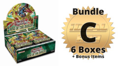Rise of the Duelist Bundle (C) - Get 6x Booster Boxes + Bonus Items * PRE-ORDER Ships Aug.07