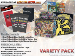 Pokemon SM06 Variety Pack - Get x1 Forbidden Light Booster Box; x1 Theme Deck Set; x1 Elite Trainer + FREE Bonus * Ships Apr.30