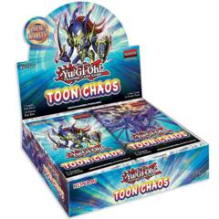 Toon Chaos (1st Edition) Yugioh Booster Box [24 Packs]
