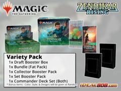 !MTGZNR VARIETY PACK - Get x1 Zendikar Rising Booster Box; x1 Bundle; & x1 Commander Deck Set, x1 Collector Pack, x1 Set Pack *