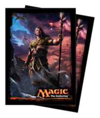 Magic the Gathering DTK Dragons of Tarkir Ultra Pro Sleeve 80ct. - Sarkhan Unbroken (#86243)
