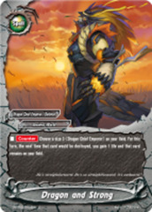 Dragon and Strong [D-BT02/0103EN C (FOIL)] English