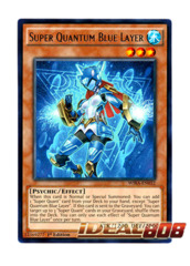 Super Quantum Blue Layer - WIRA-EN032 - Rare - 1st Edition