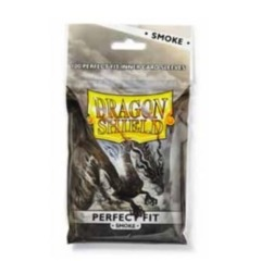 Dragon Shield Standard (100ct) Perfect Fit Inner Sleeves - Smoke