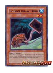 Poison Draw Frog - CRV-EN028 - Common - 1st Edition