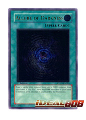 Allure of Darkness - PTDN-EN084 - Ultimate Rare - 1st Edition