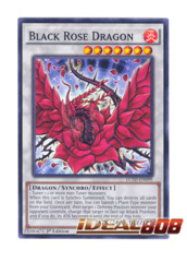 Black Rose Dragon - LC5D-EN099 - Common - 1st Edition