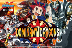 BFE-TD01 Dominant Dragons (English) Future Card Buddyfight Trial Deck