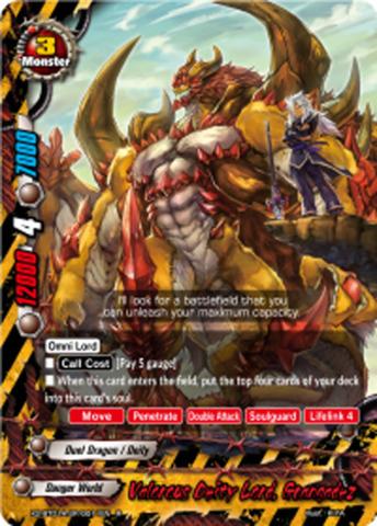 Drum the Tempest Buddyfight 1x X2-BT01A-SP//0012EN R Blue Sky Knights