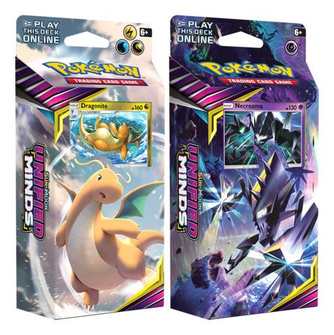 SM Sun & Moon - Unified Minds (SM11) Pokemon Theme Deck Set