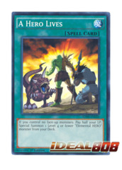 A Hero Lives - SDHS-EN026 - Common - 1st Edition