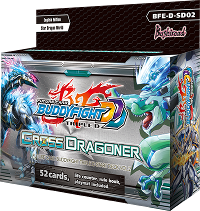 BFE-D-SD02 Cross Dragoner (English) Future Card Buddyfight Starter Deck