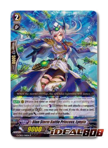Blue Storm Battle Princess, Lynpia - G-CB02/018EN - R