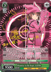 Promise to Be Kept, LLENN [GGO/S59-E002SP SP (SIGNED FOIL)] English