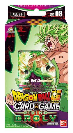 DBS-SD08 ~RISING BROLY~ (English) Dragon Ball Super Starter Deck