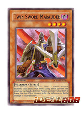 Twin-Sword Marauder - CRMS-EN006 - Common - 1st Edition