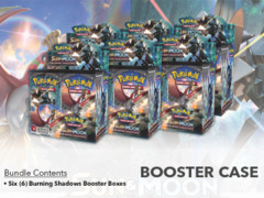 SM Sun & Moon - Burning Shadows (SM03) Pokemon Booster  Case (6 Boxes)