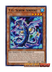 T.G. Screw Serpent - SAST-EN009 - Rare - 1st Edition