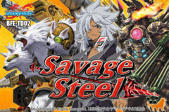 BFE-TD02 Savage Steel (English) Future Card Buddyfight Trial Deck
