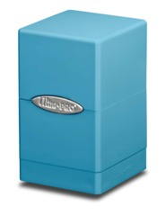 Ultra Pro Satin Tower Deck Box - Light/Sky Blue (#84180)