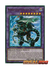 Borreload Furious Dragon - SDRR-EN042 - Ultra Rare - 1st Edition