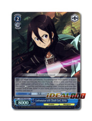 Confrontation with 《Death Gun》, Kirito [SAO/SE23-E33 C (FOIL)] English