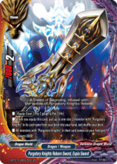 Purgatory Knights Reborn Sword, Expia Sword [S-BT01A-UB03/0031EN R (FOIL)] English