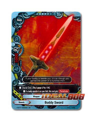 Buddy Sword [H-BT01/0020EN RR] English Double Rare
